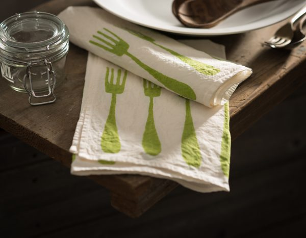 luxury linen napkin stamperia bertozzi, AllORA