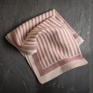 Italian hand-stitched artisan kitchen towel