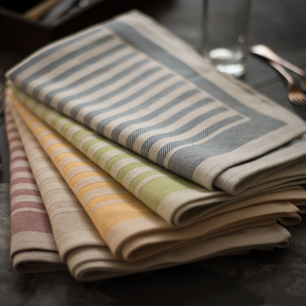 Merveilleux Italian Hand Stitched Artisan Kitchen Towel