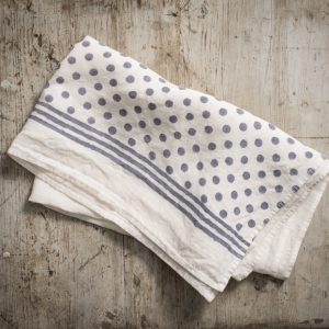 fine linen kitchen towels stamperia bertozzi, allorashop