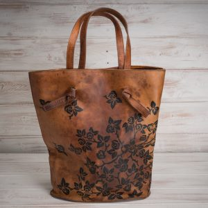 Italian artisan handmade leather bag