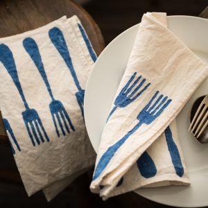 Italian artisan linen napkins