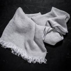 Italian linen scarves scarf by Tessitura Pardi, allorashop