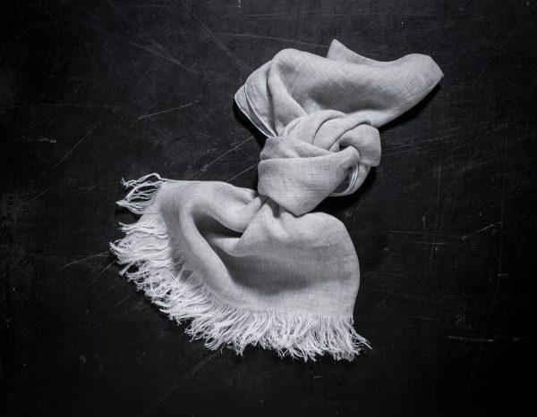 Italian linen scarvers by Tessitura Pardi, allorashop