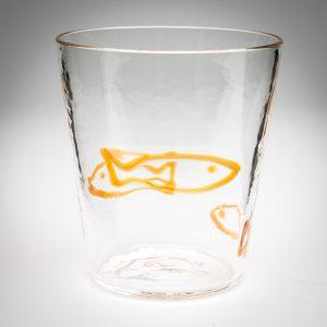 Italian hand blown glassware