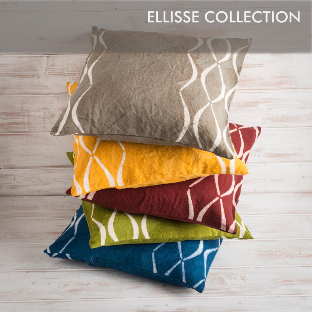 hanpainted linen cushions bertozzi