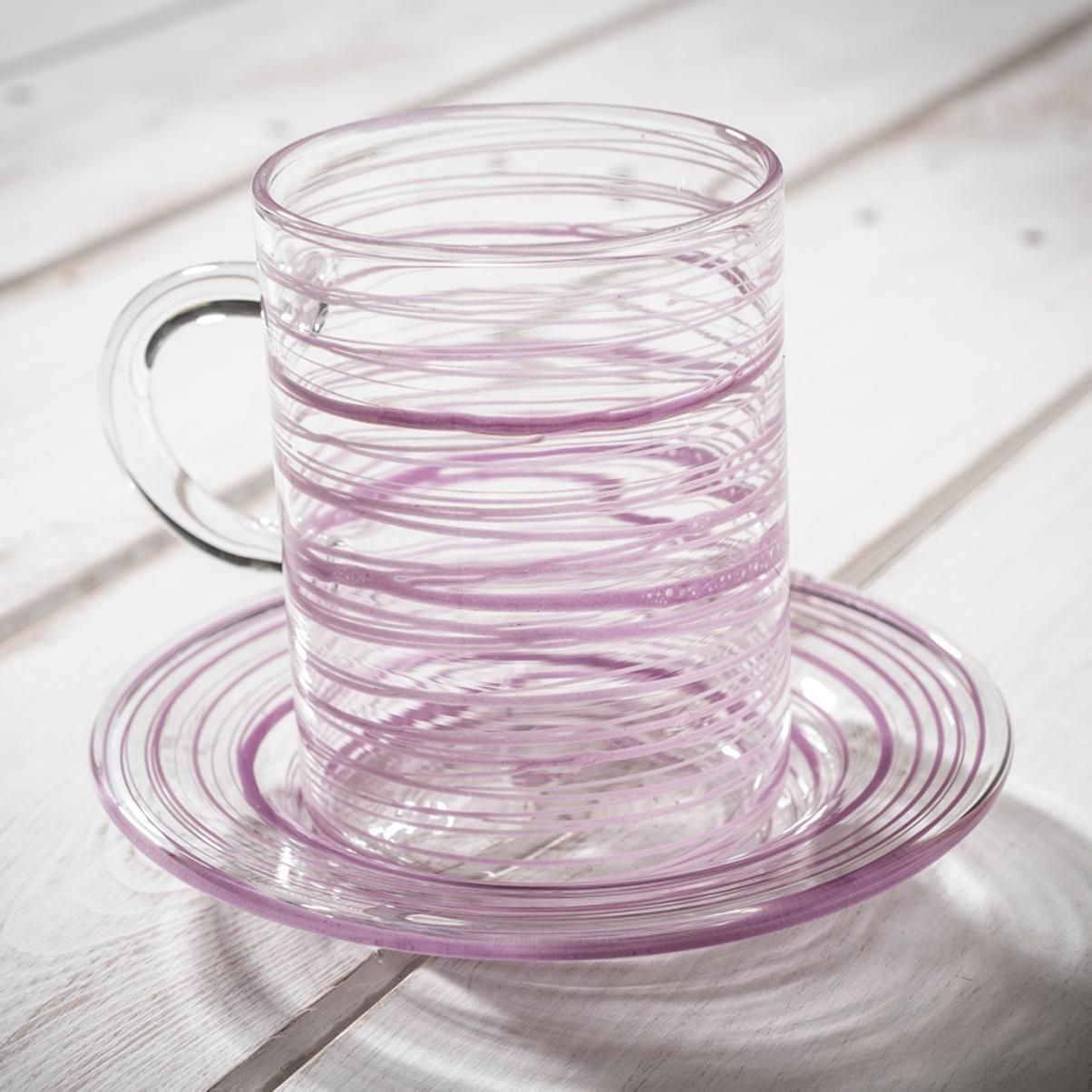 Italian hand blown glassware - AllÓRA
