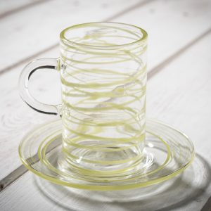 Italian hand blown glassware - AllÓRA
