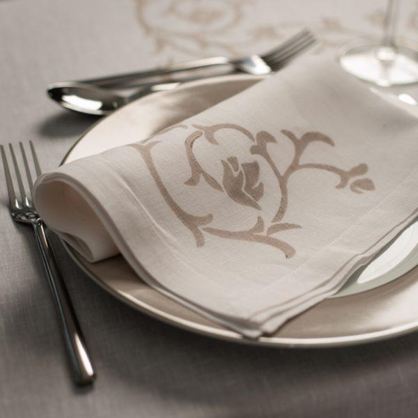 Italian artisan linen napkin