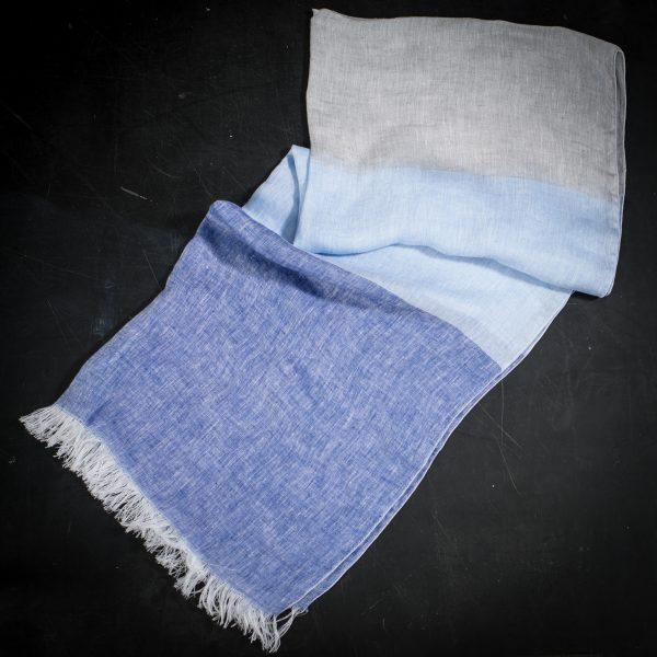 Italian artisan linen scarf