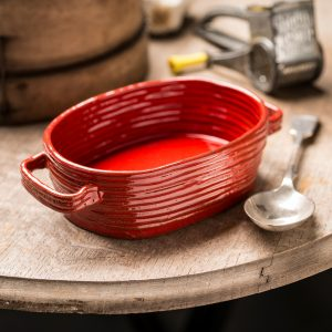 Handmade Ceramic Oval Pie Dish - allorashop