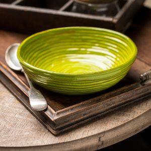 handmade italian ceramic plate
