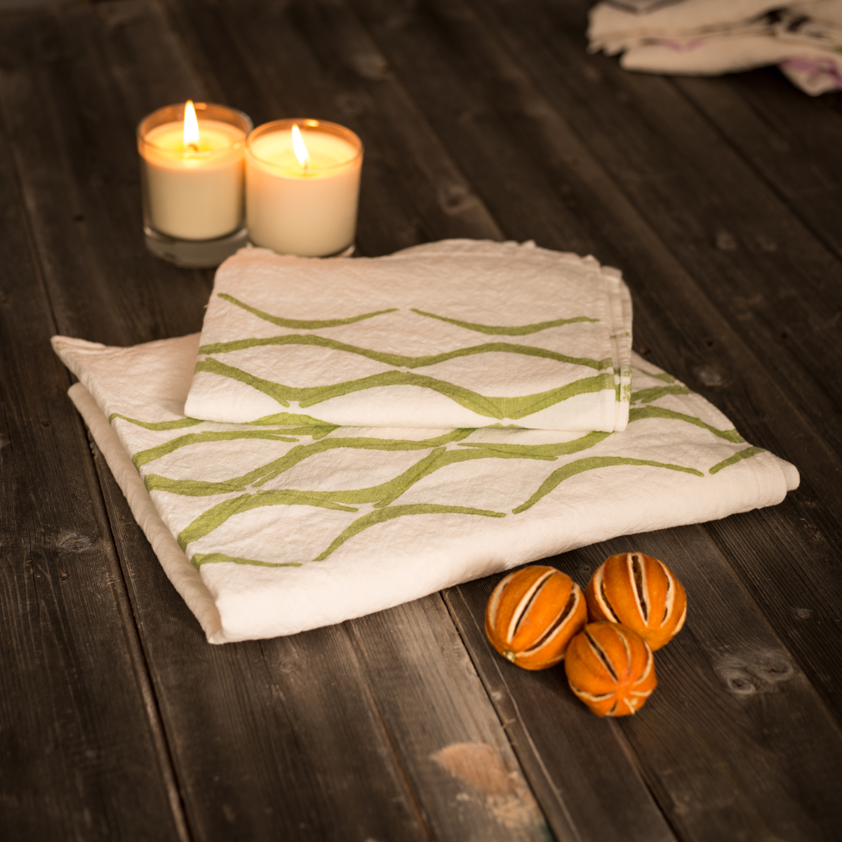 allorashop Italian linen bath towel by Bertozzi