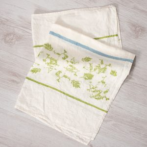 allorashop Hand-painted artisan tea towel