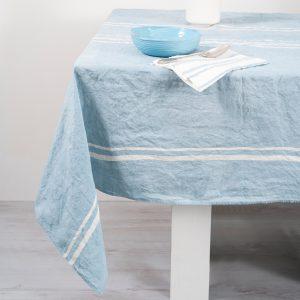 allorashop Italian handcrafted linen tablecloth by Bertozzi