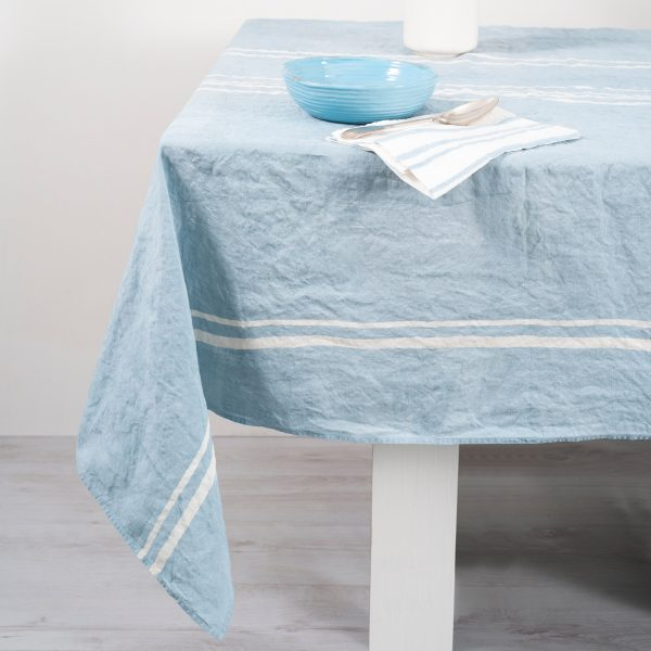 allorashop Italian handcrafted linen tablecloth by Bertozzi