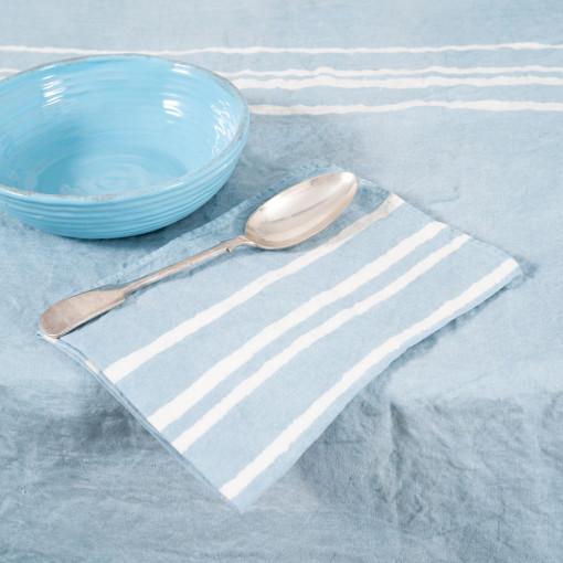 allorashop artisan linen napkins by Bertozzi