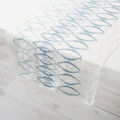 allorashop hand-printed Italian table runner