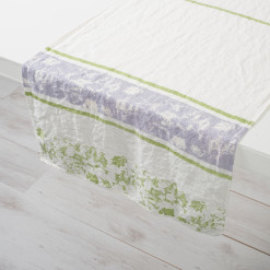 Allorashop Fine Italian Linen Table Runner