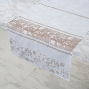 allorashop hand-printed Italian table runner