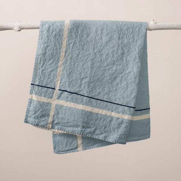 allorashop fine handcrafted linen tea towel