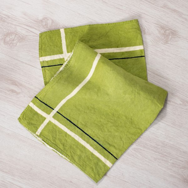 allorashop fine handcrafted linen tea towel