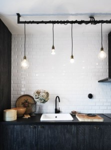 vintage industrial charm kitchen