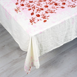 Light-pink-tablecloth