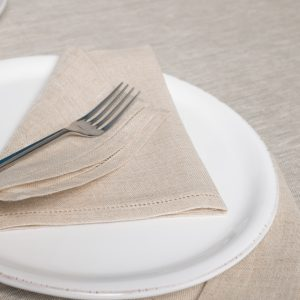 italian natural linen napkins
