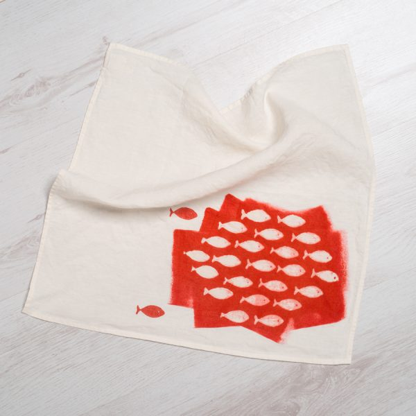 hand painted quirky napkins