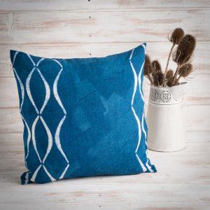 artisan blu cushion bertozzi
