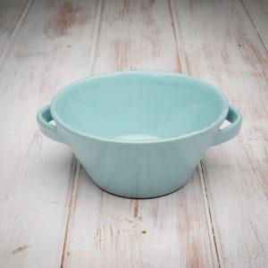 Handmade ceramic coral bowl