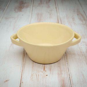 handmade ceramic soup bowl