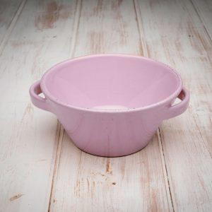 Handmade ceramic cereal pot