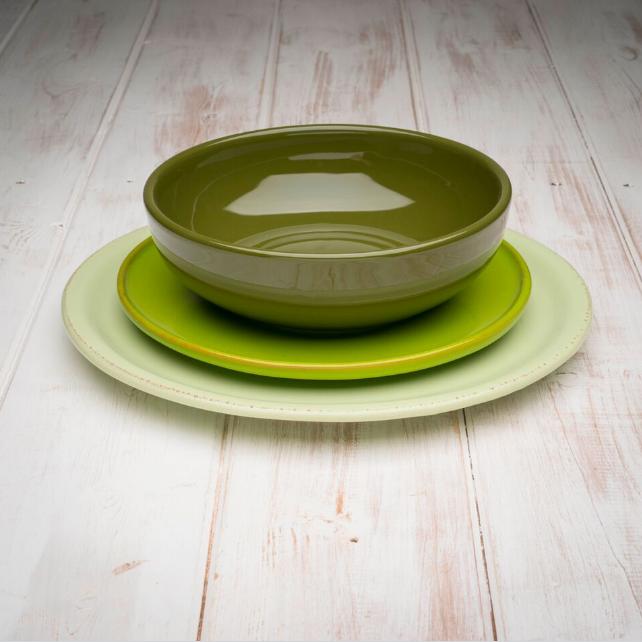 AllÓRA handmade ceramic dinner set OMBRE