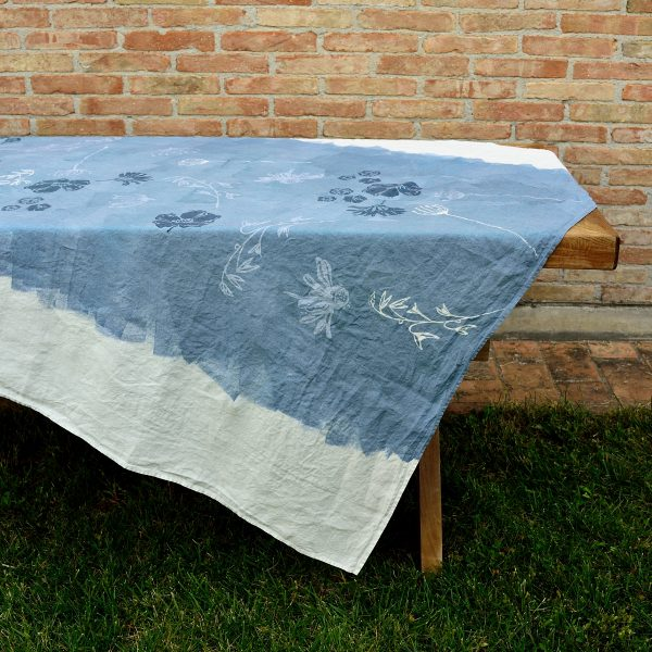 hand painted unique tablecloths bertozzi