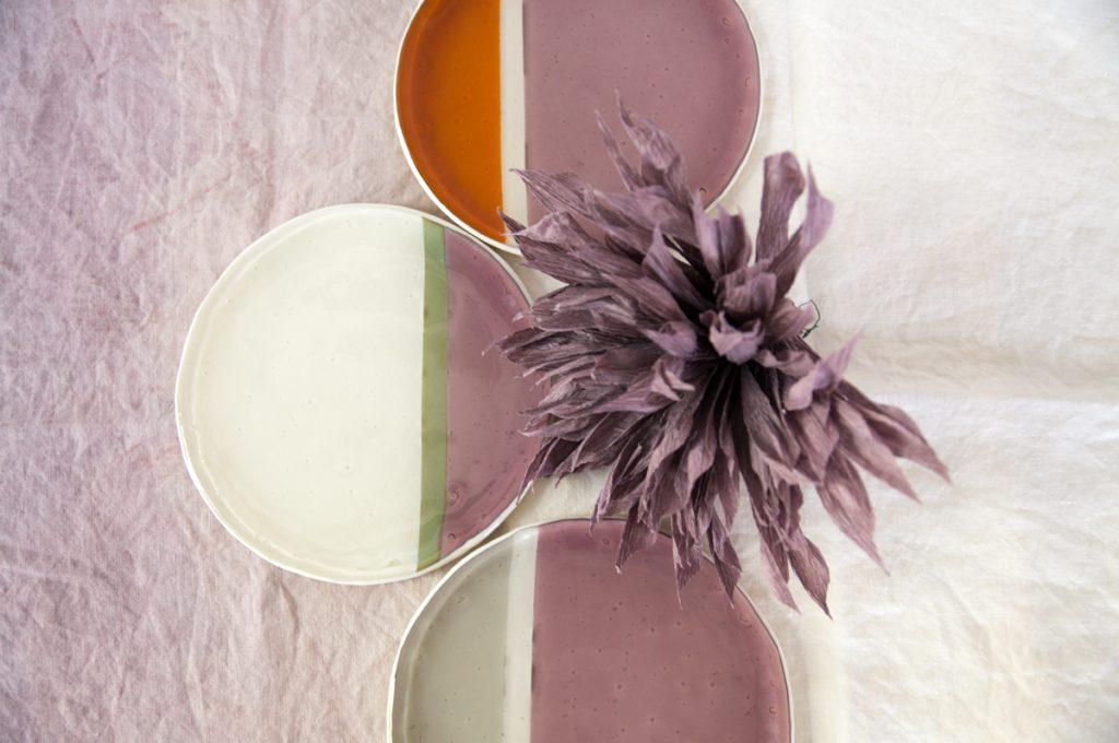 Murano glass plate Balla