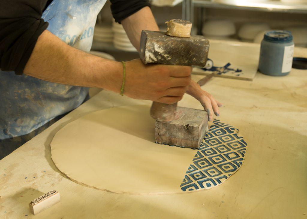 handmade porcelain tableware