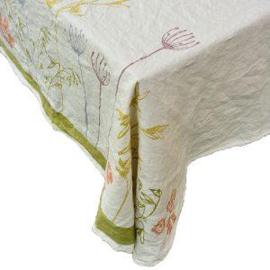 Italian luxury linen tablecloth
