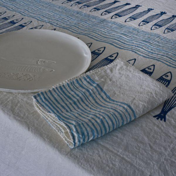 Chic coastal style napkins Bertozzi