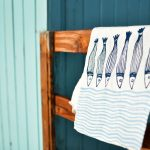 Linen kitchen towel Bertozzi Siena