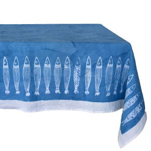 seaside style tablecloths Panarea by Bertozzi