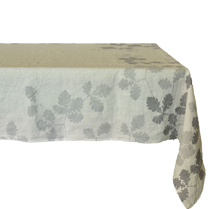 Oak leaf tablecloth by Bertozzi