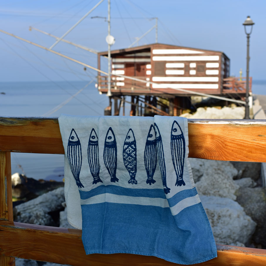 seaside home linens by Bertozzi