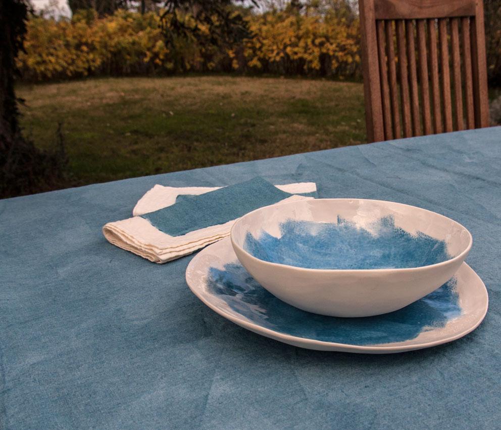 handmade porcelain table settings Bertozzi