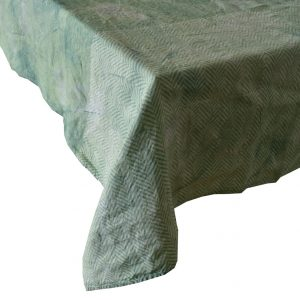 Bertozzi linen tablecloths mint