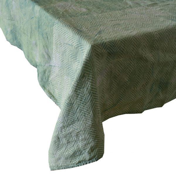 Bertozzi linen tablecloths mint