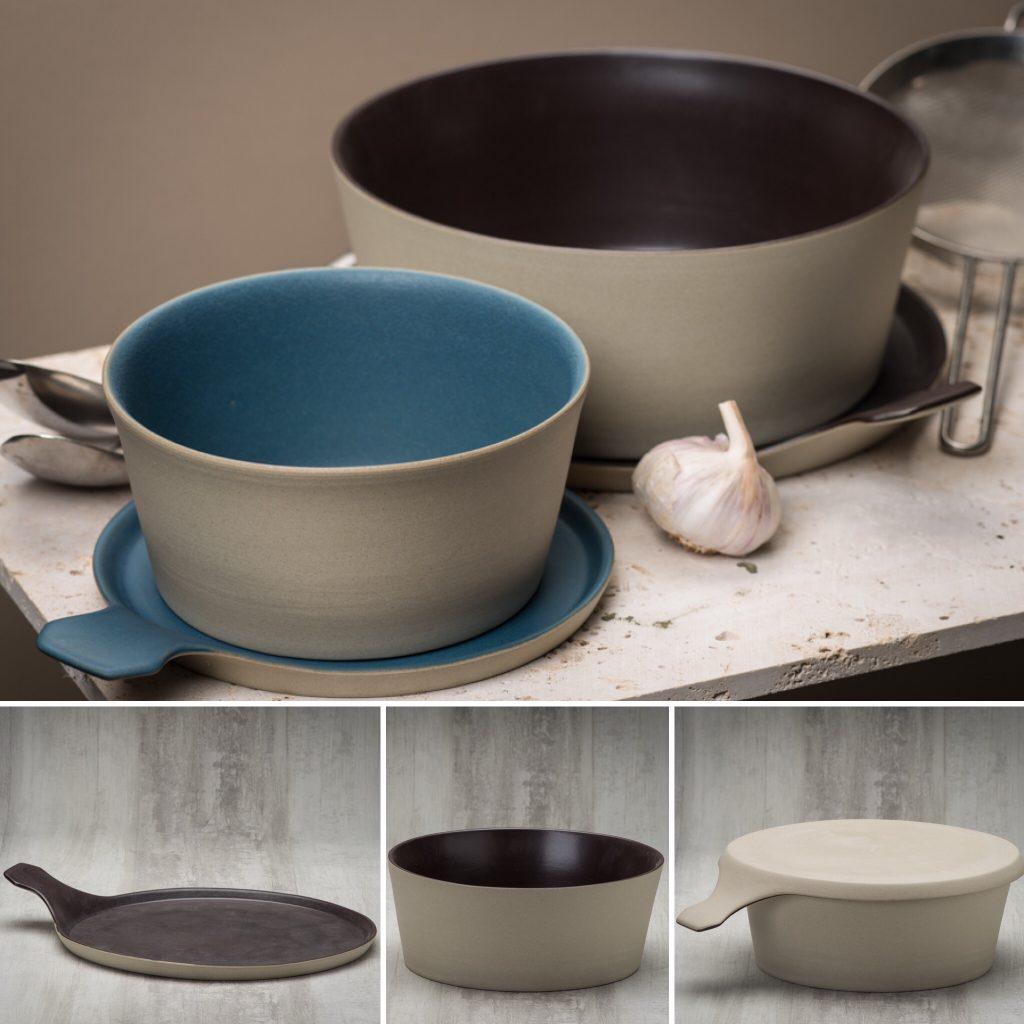 design ceramic pot Bucci