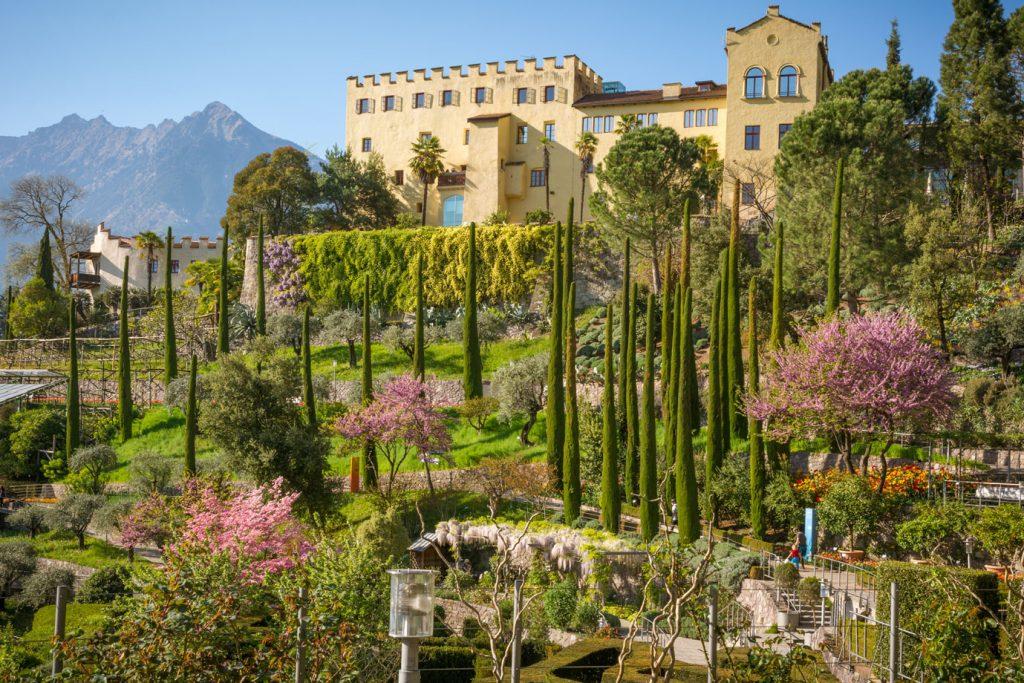 Trauttmansdorff Castle Gardens-Italy