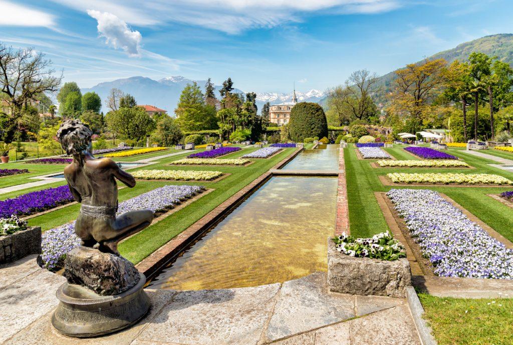 Villa Taranto Garden Lake Maggiore Italy